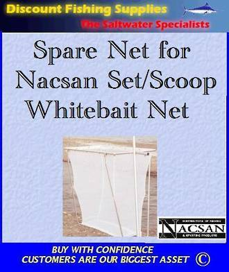 Spare Net FOR the Folding Whitebait Scoop And/Or Setnet
