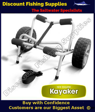 Folding Kayak Trolley With Zero Pressure Wheels