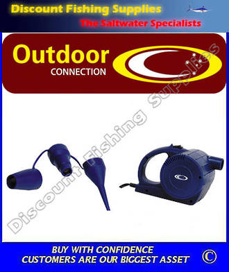 Outdoor Connection Turbo Air Pump