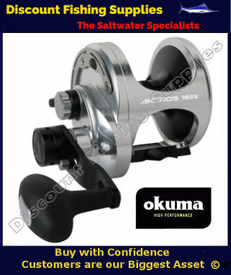 Okuma Andros 16 2 Speed Lever Drag Jigging Reel