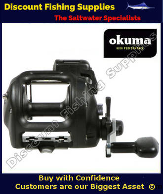Okuma Magda 30DT Trolling Reel (With Line Counter)
