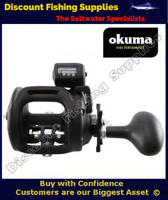 Okuma Magda MA 45DT Trolling Reel (With Line Counter)