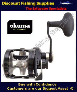Okuma Metaloid 12S Single Speed Jigging Reel