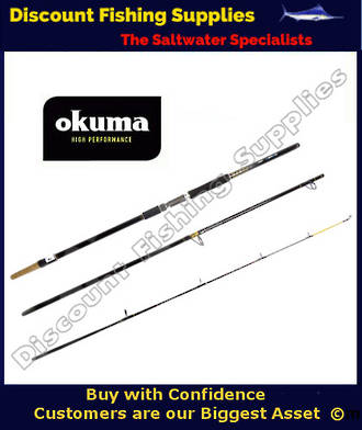 Okuma Sensor Tip Plus Rock Rod 3pc - 10' 15kg