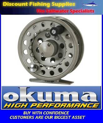 Okuma SLV Super Large Arbor Alumilite Fly Reel 5/6