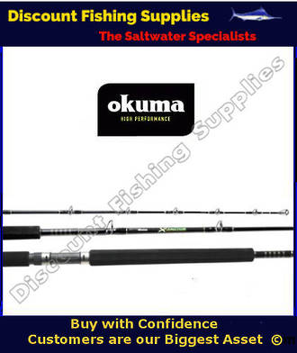 "Okuma X-Factor 1pc 5'6"" Trout Trolling Rod"