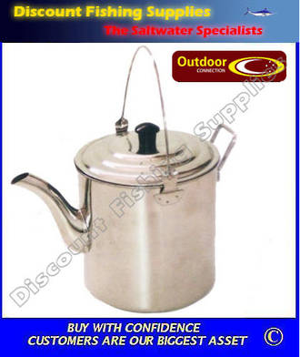 Outdoor Connection 4 Pint Stainless Steel - Billy Teapot