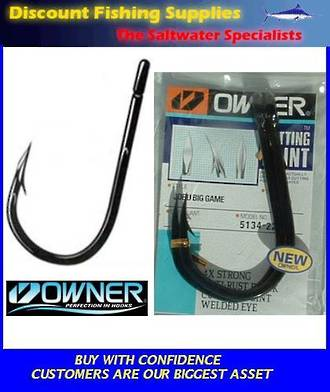 Owner JOBU Game Hook 12/0 with CUTTING POINT X 2