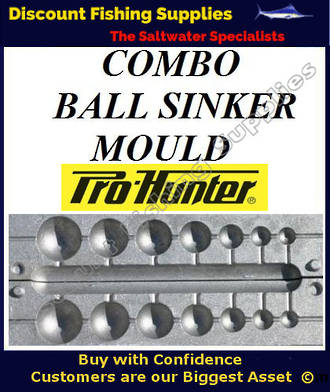Sinker Mould - Ball Combo