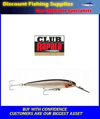 "Rapala CD Sinking Magnum - 7"" Silver"