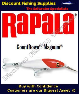 "Rapala CD18 Sinking Magnum - 7"" Redhead"