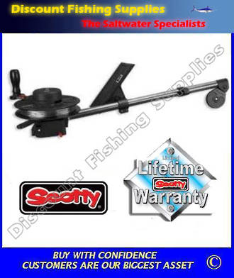 "Scotty Strongarm 30"" Manual Downrigger (1085)"