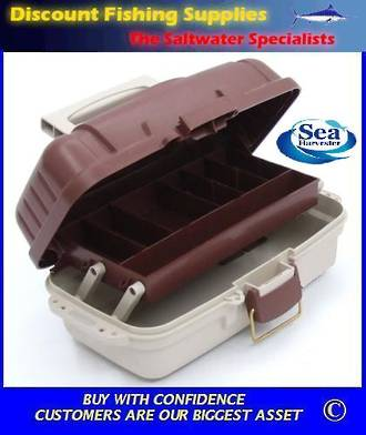 Sea Harvester 1 Tray Medium Tackle Box