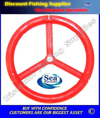 "SeaHarvester Leader wheel - Small 4 1/2"" (X 2 Wheels)"