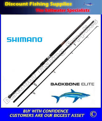 Shimano Backbone Elite Surfcasting Rod 14ft 6inch 8-15kg 3pc