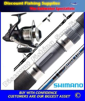 Shimano Baitrunner 8000OC - Aquatip Rod Spin Combo 10-15kg
