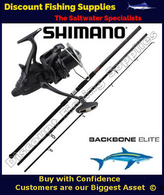 Shimano Big Baitrunner XTB 14000 Long Cast - Backbone Elite Surf Combo