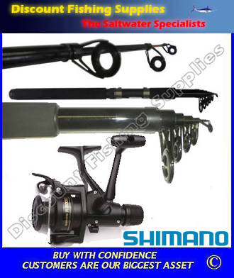 Shimano Eclipse 6' IX2000R Telescopic Spin Combo  WITH LINE