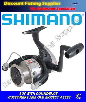 Shimano FX2500FB Spinning Reel (With Line)