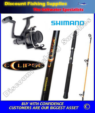 Shimano IX 4000 - Eclipse Spin Combo 6' WITH LINE