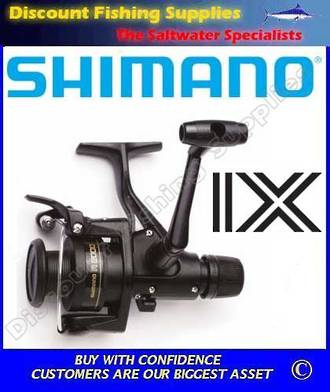 Shimano IX4000 Rear Drag Spin Reel WITH LINE