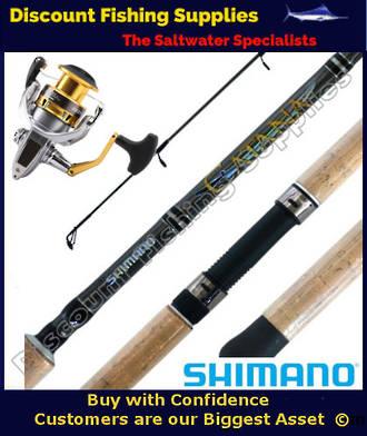 Shimano Sedona 4000 - Catana Spinning Combo 6-8kg 2pc