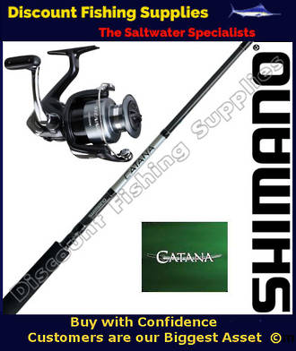 Shimano Sienna 2500FE / Catana Softbait Set 2pc