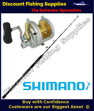 Shimano Talica 50 II and Tiagra Ultra Stand-Up Game Combo 37kg