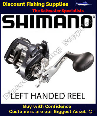 SHIMANO TEKOTA 601 A-HG OVERHEAD LEFT HAND FISHING REEL