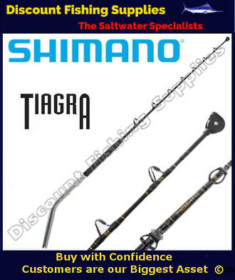 Shimano TIAGRA Series 37kg Bent Butt Game Rod