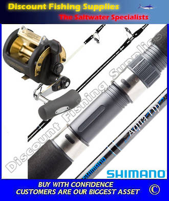 Shimano TLD 50 2 Speed - AquaTip Game Combo 24kg