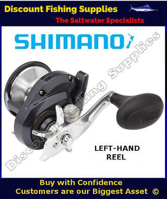 Shimano Torium 16HGA High Speed Reel - LEFT HANDED