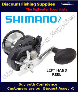 Shimano Torium 20HGA High Speed Reel - LEFT HANDED