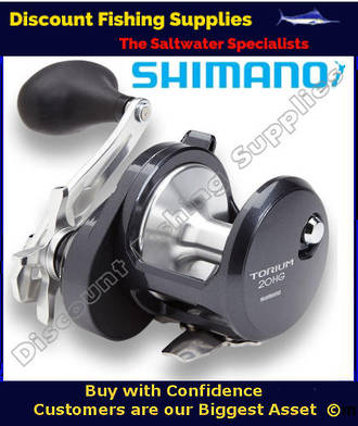 Shimano Torium 20HGA High Speed Reel