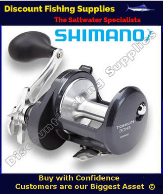 Shimano Torium 30HGA High Speed Reel