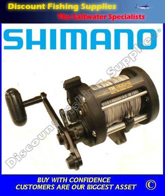 Shimano TR200G Pre-Loaded with Leadline