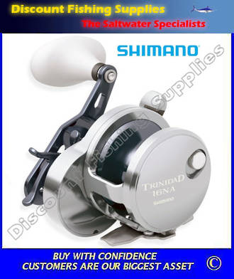 Shimano Trinidad 16NA Narrow Jigging Reel