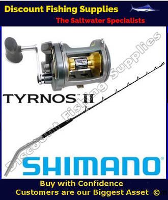 Shimano Tyrnos TYR 50 LRS 2speed / Status Bent Butt 24-37kg Combo