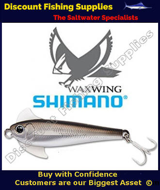 Shimano Waxwing Freshwater Trout Lure 48mm - Black Chrome