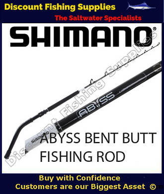 Shimano Abyss Bent Butt Game Rod 60 - 100lb