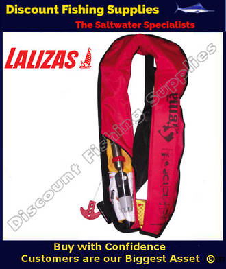 Sigma Manual Gas Inflate Lifejacket with Harness
