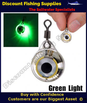 Small Deep Drop Underwater LED Fishing Light - GREEN