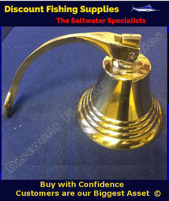 "Brass Bell Medium (6"")"