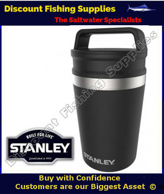 STANLEY ADVENTURE MUG 230ML/8OZ BLACK (LIFETIME WARRANTY)