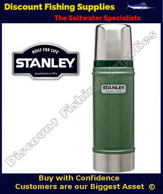 Stanley Classic 0.47lt Flask Green (LIFETIME WARRANTY)