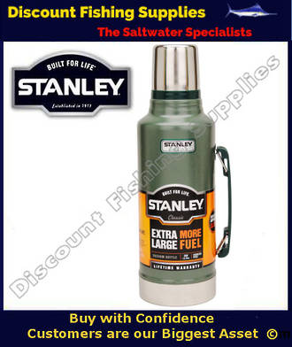 Stanley Classic 1.9lt Flask Green (LIFETIME WARRANTY)