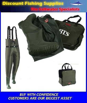 Taimer BTS Hi-Elastic Chest Waders SIZE 12
