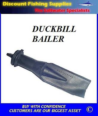 Duckbill Bailer With Push In Plug
