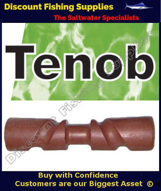 Tenob Rubber Self Centring Trailer Roller - 300mm X 68mm