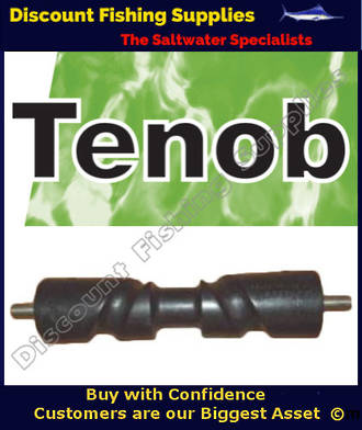 Tenob Self Centring Trailer Roller with Shaft - 350mm X 70mm